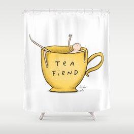 Honest Blob - Tea Fiend Shower Curtain