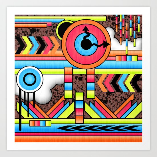 Fun Factory. Art Print