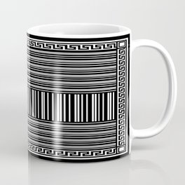 Greek Key - Barcode Coffee Mug
