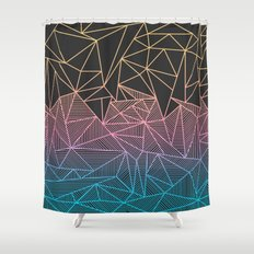Brody Rays Shower Curtain