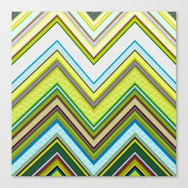 Chevron 01 Canvas Print