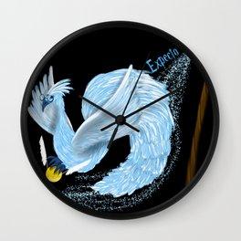 Expecto Patronum Phoenix Wall Clock