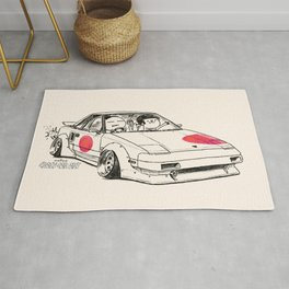 Crazy Car Art 0161 Rug