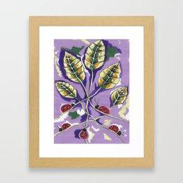 A Lady Bugs Paradise Framed Art Print
