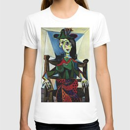 Dora Maar au Chat by Pablo Picasso T-shirt