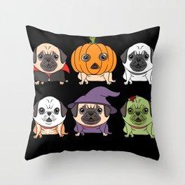 Trick Or Treat Halloween Cartilage Throw Pillow