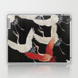 Furisode with a Myriad of Flying Cranes (Japan) Laptop & iPad Skin