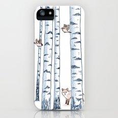 Fox in the woods iPhone (5, 5s) Slim Case