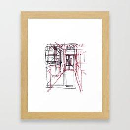 Ici et là Framed Art Print