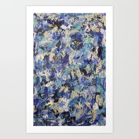 Final Wasser 1 Art Print