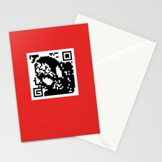 QR- Spiderman Stationery Cards