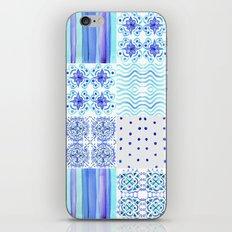 Amalfi Coast Tiles iPhone Skin