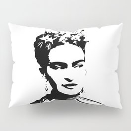CHRISTMAS WITH A PORTRAIT OF AN ICONIC SURREALIST FOR YOU FROM MONOFACES IN 2020 Pillow Sham