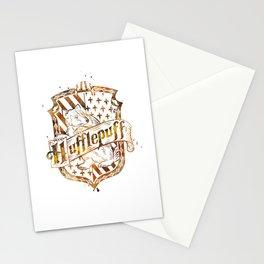 Hufflepuff Crest Stationery Cards