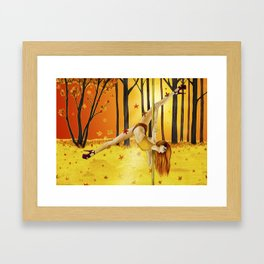November 2017 Framed Art Print