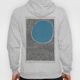 Abstract Blue Lake Hoody