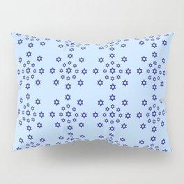 Star of David 29- Jerusalem -יְרוּשָׁלַיִם,israel,hebrew,judaism,jew,david,magen david Pillow Sham