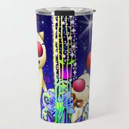 Fusion Keyblade Guitar #163 - Mogry of Glory & Star Seeker Travel Mug