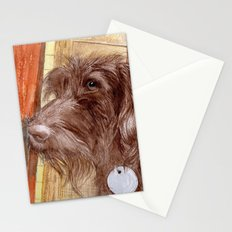 Chocolate Labradoodle Jackson Stationery Cards