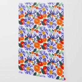 Alia #floral #illustration #botanical Wallpaper