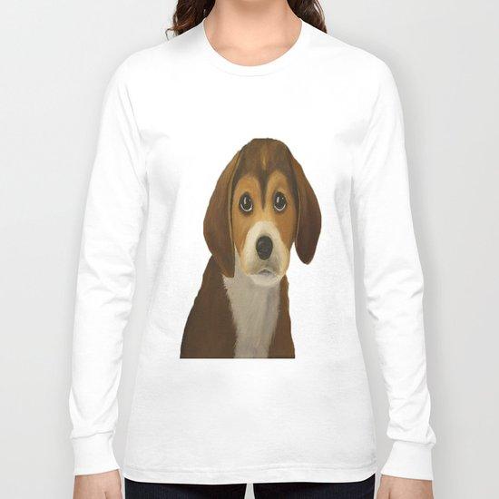 Cute Doggy Painting Long Sleeve T-shirt