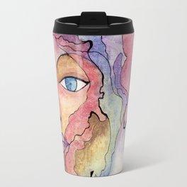 Mujer Agua Metal Travel Mug