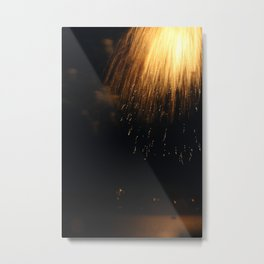 light rain Metal Print