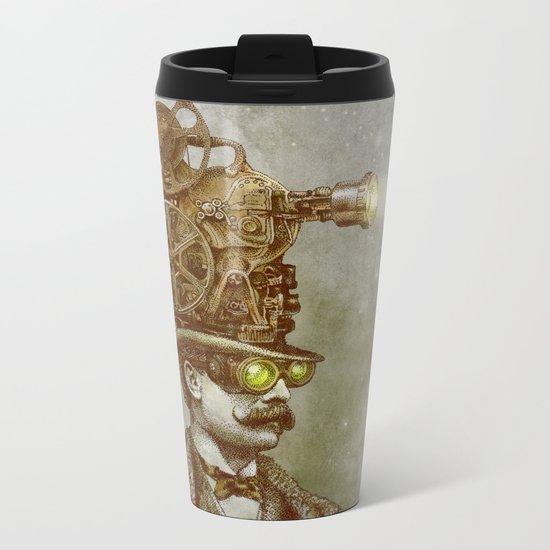 The Projectionist  Metal Travel Mug