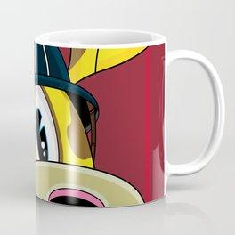 Cute Fireman Giraffe Coffee Mug