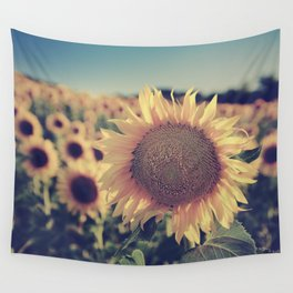 """Sunflowers"" Vintage dreams Wall Tapestry"
