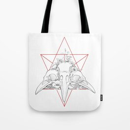 CH crows Tote Bag