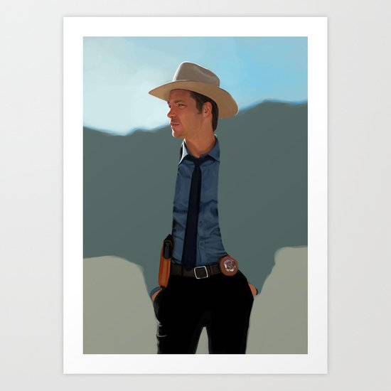 Justified Art Print