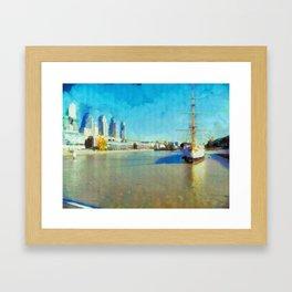 Bella Giornatta Framed Art Print