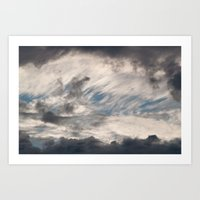 Strange Clouds Art Print