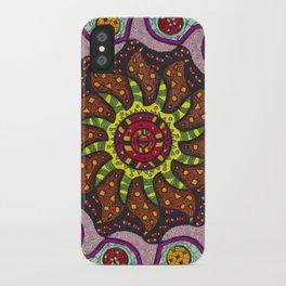 Inner Light Mandala - מנדלה אור פנימי iPhone Case