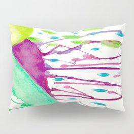 Watercolor Doodle Pillow Sham
