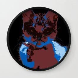 Pop Art Cat Wall Clock