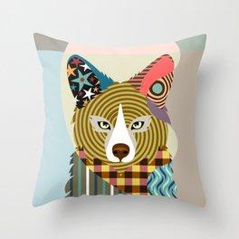 Sly as a Fox Throw Pillow