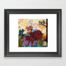 La Tirelire Framed Art Print