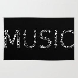 Music typo - inverted Rug