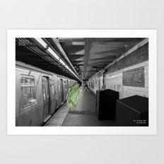 Unseen Monsters of New York - Umpteen Chunk Art Print