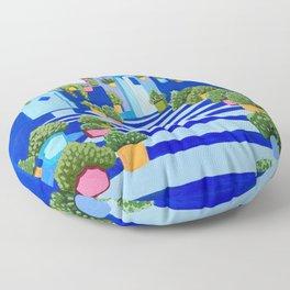 Blue Dreams Floor Pillow