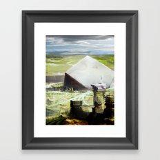 Utopian Vessel.  Framed Art Print