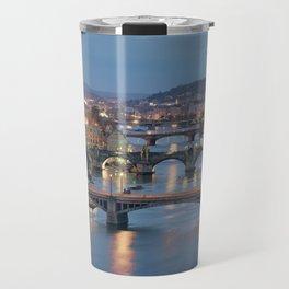 Prague Cityscape Travel Mug