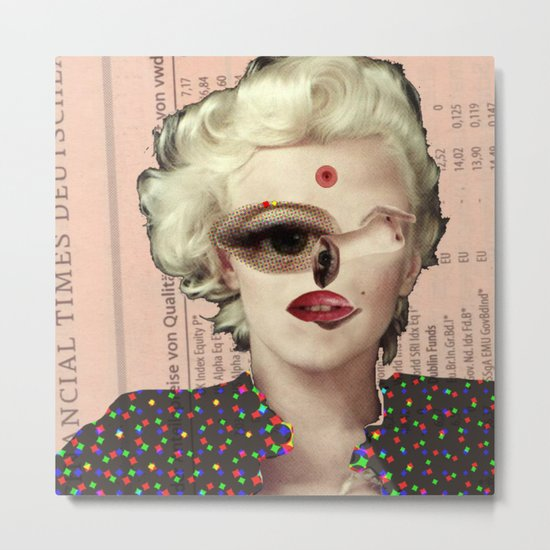 Mix Marilyn Collage 1 Metal Print