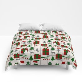 Festive Christmas mood Comforters