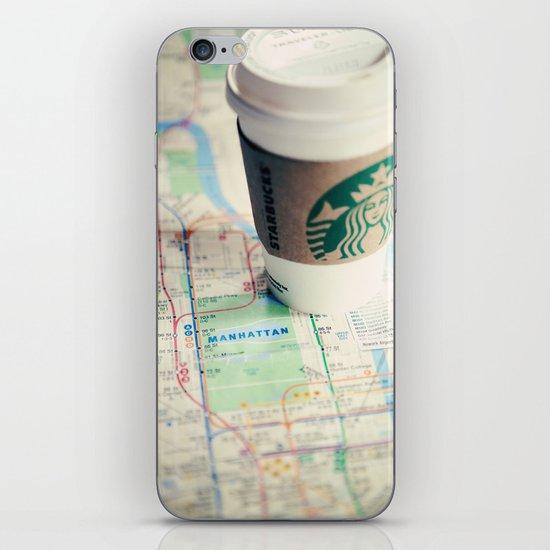 Manhattan and Starbucks iPhone & iPod Skin