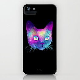 CAT SPATIAL iPhone Case