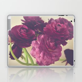 Romantic Ranunculus Laptop & iPad Skin