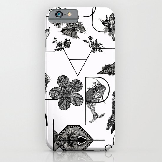 Letters iPhone & iPod Case